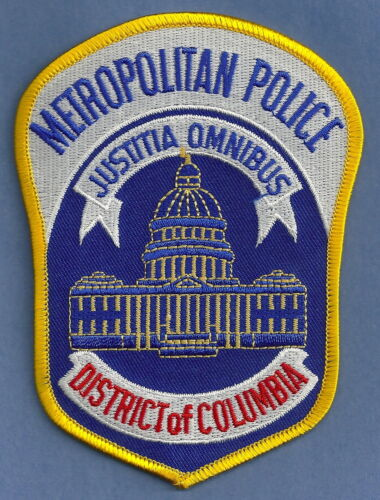 DISTRICT OF COLUMBIA METROPOLITAN POLICE SHOULDER PATCH