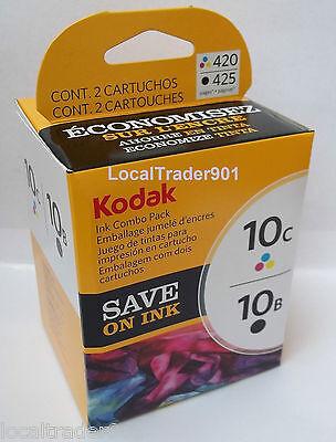 Kodak Color 10 10C Black 10B Ink Inkjet Cartridge Multi-Pack New In Box OEM