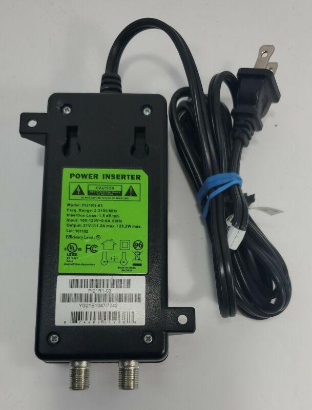 Direct TV Power Inserter SWM ODU Model: PI21R1-03 SWIM Cord.