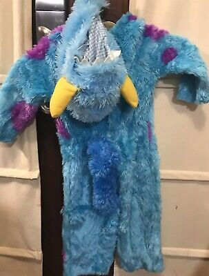 Monsters Inc Sully Costume 2T With Hat And - Monster Inc Sully Kostüm