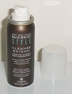 Alterna Bamboo Style Cleanse Extend Translucent Dry Shampoo,