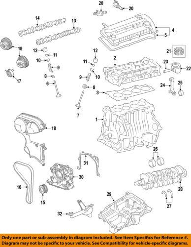 Details About Ford Oem 14 16 Fusion Engine Crankshaft Crank Ds7z6303a