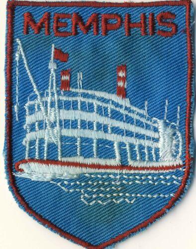 "Memphis TN Riverboat Tour Sternwheeler Souvenir Backpack 2.75"" Tourist Patch"