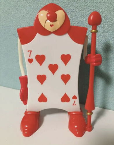 Alice in Wonderland Card Soldier Figure Candy Case Tokyo Disney Resort Japan