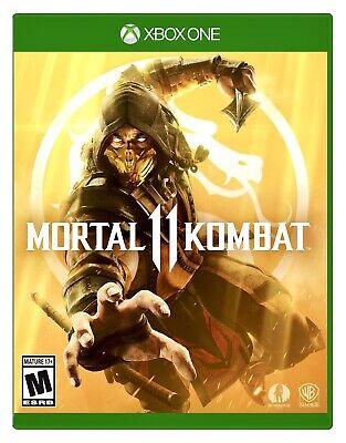 Mortal Kombat 11 (Xbox One) Brand New Factory Sealed Free Shipping XB1 MK11