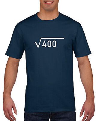 20th Birthday Gift Present Idea For Boys Dad Him & Men T Shirt 20 Tee Shirts  ()