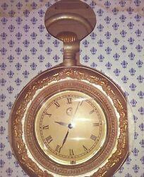Novelty Pocket Watch Wall Clock New in Box