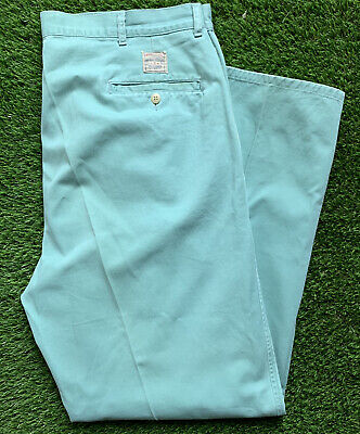 Ralph Lauren Polo Chino Pants Mens 40 X 32 EUC Mint Color Ships Fast Clothing
