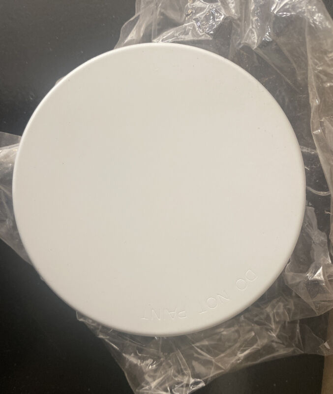 Tyco TY5522 Fire Sprinkler Cover Plate, Concealed, White 135 F 568924135
