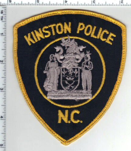 Kinston Police (North Carolina) Uniform Take-Off Shoulder Patch from the 1980