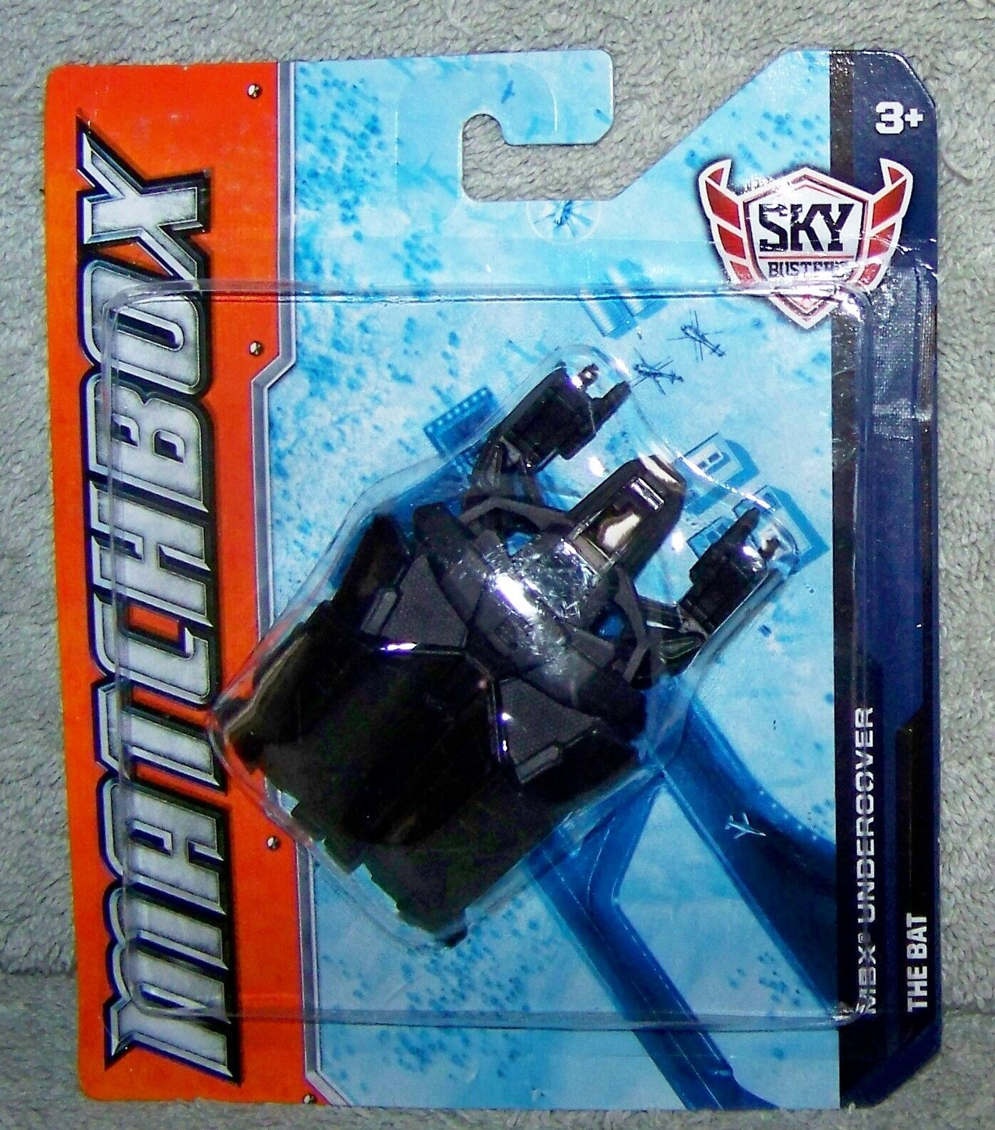 TWO Matchbox Sky Busters SB94 Drone 2011 Missions white 2012 Arctic green