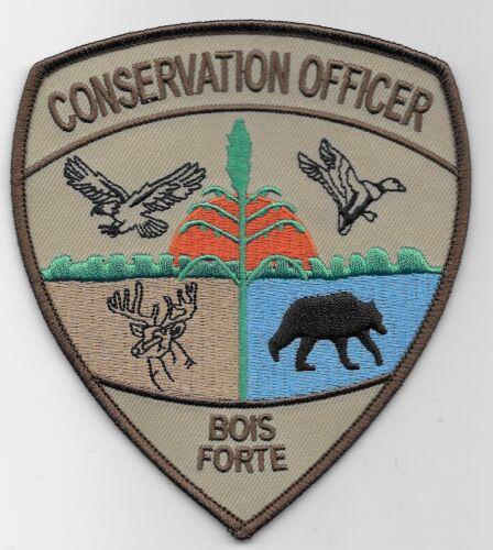Bois Forte Tribal Conservation Fish & Wildlife Police Sheriff State Minnesota MN