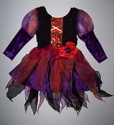 Costume Places (CHILDREN'S PLACE WITCH COSTUME DRESS 3-4 TCP HALLOWEEN GIRLS 3)