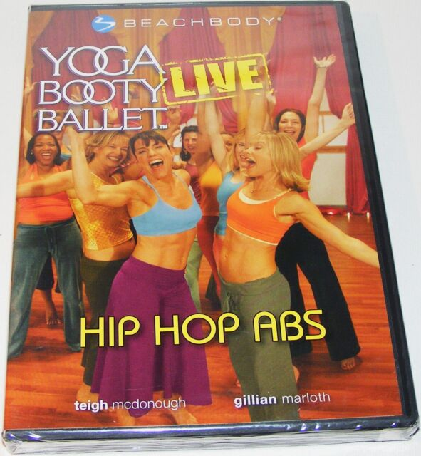 YOGA BOOTY BALLET : Hip,Hop Abs--(Dvd New & Sealed)