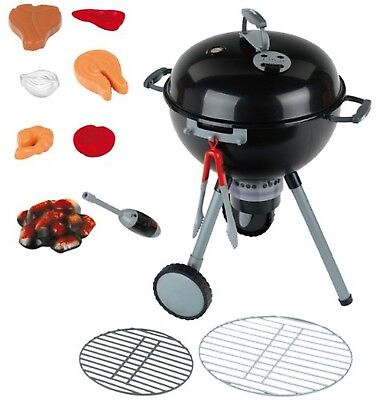 Theo Klein 9401 - Weber Kettle Barbecue One Touch Premium With Light And Sound