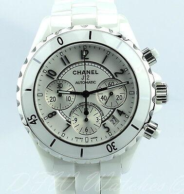 Chanel J12 White Ceramic Chronograph H1007 41mm