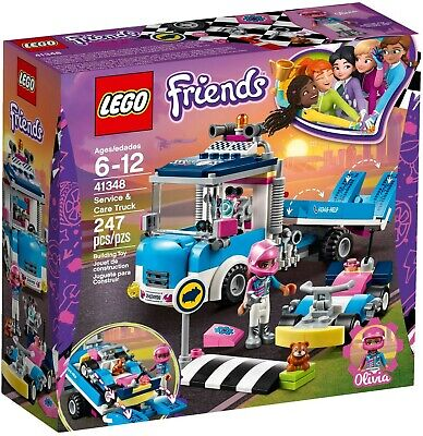 Lego Friends Service & Care Truck 41348 - Brand New and Sealed