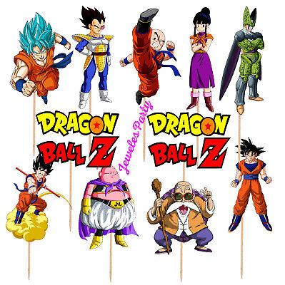 DRAGON BALL SUPER Party SUPPLIES PLATE CUP Balloon DRAGONBALL banner topper - Dragon Balloons