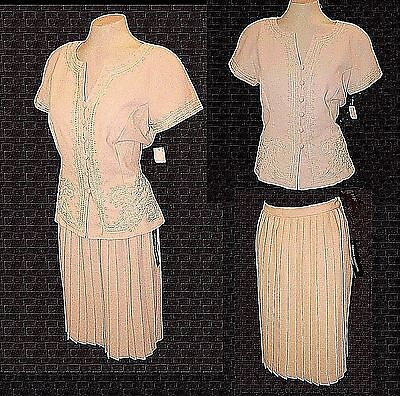New Suit 2-PC: Top & Skirt, Donna Morgan for Maggy, MSRP-$160.00   8