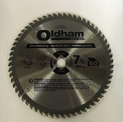 (Oldham B7254760 Circular Saw Blade 7-1/4