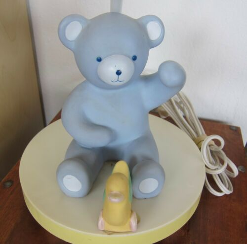 VINTAGE NURSERY TEDDY BEAR TABLE LAMP BASE