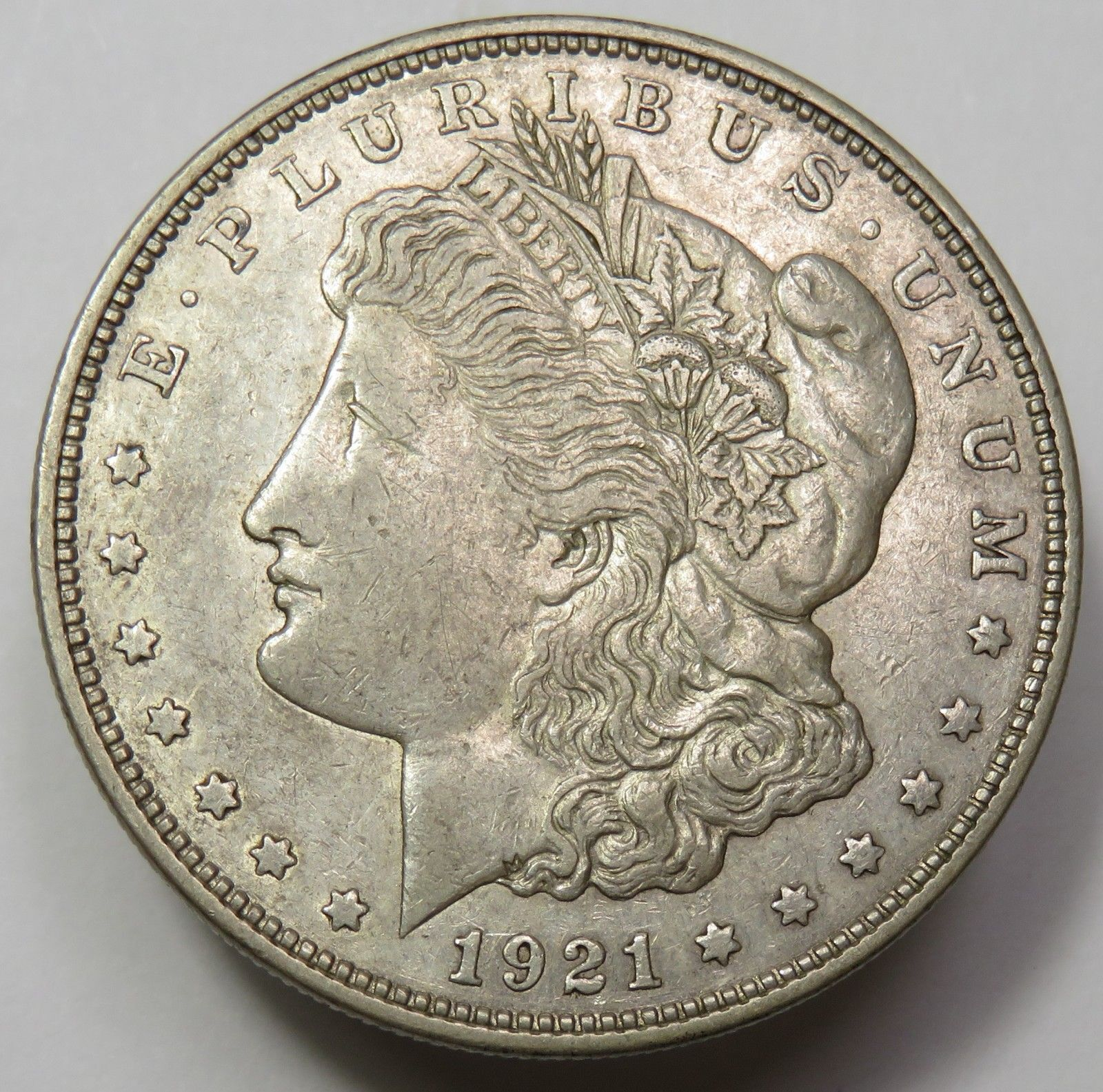 Купить (1) 1921 MORGAN SILVER DOLLAR VG-XF CONDITION! MINT VARIES! SILVER INVESTMENT!