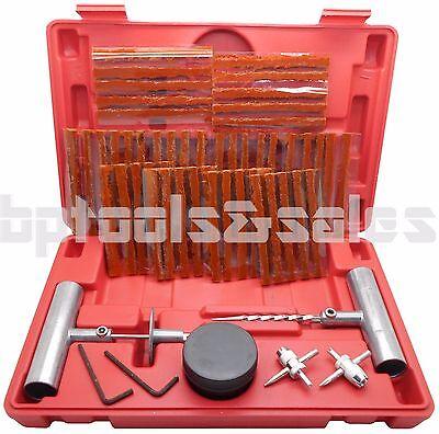 (57pc Tire Repair Kit DIY Flat Tire Repair Car Truck Motorcycle Home Plug Patch )
