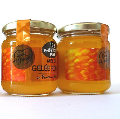 Gelée Royale Honig mit 10g purem Gelee Royal Königinnenfutter aus Frankreich ! - Gelee Royal Honig