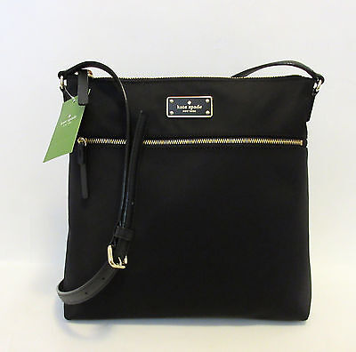 Kate Spade Keisha Blake Avenue Crossbody Bag Nylon Messenger Nwt Wkru3618