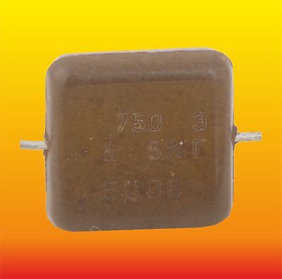 750pF 25kV 25000V de politetrafluoroetileno de cerámica de alta tensión Pomo Condensador FGT-I