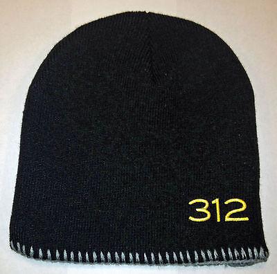 Goose Island 312 Black Skull Cap 100% Acrylic Brand New Free Shipping in USA