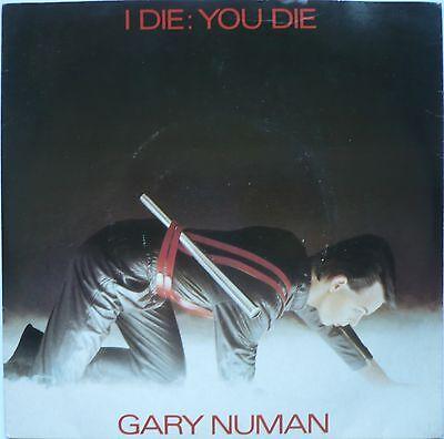 "GARY NUMAN - I Die: You Die / We Are Glass (2 x 7"" Single)"