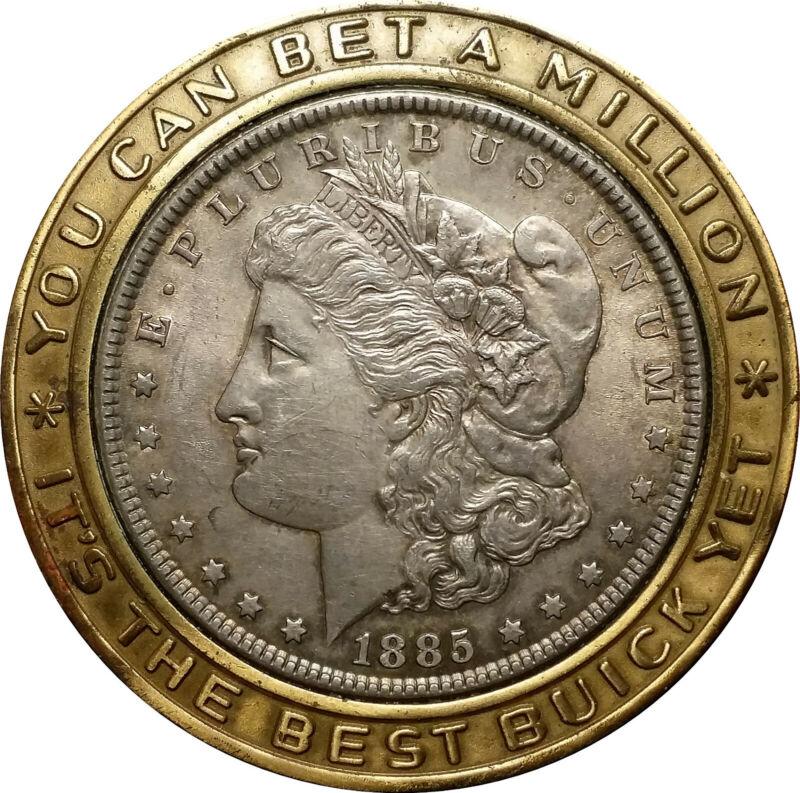 """1885 Encased Morgan """"Buick Dollar"""""""