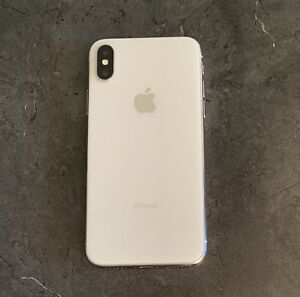 **iphone X 256 go silver **