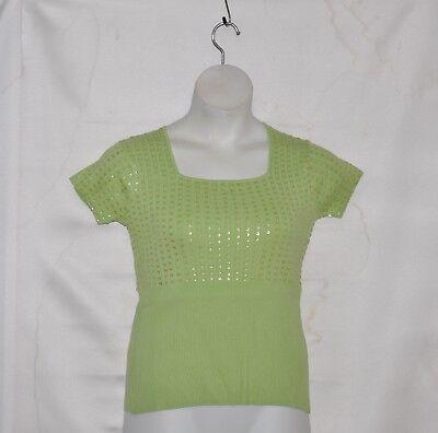 M by Marc Bouwer Beaded Bodice Sweater Size (Bodice Sweater)