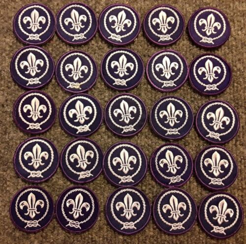 """Boy Scouts of America - Boy Scout World Scouting Crest Patch 1 1/2"""""""