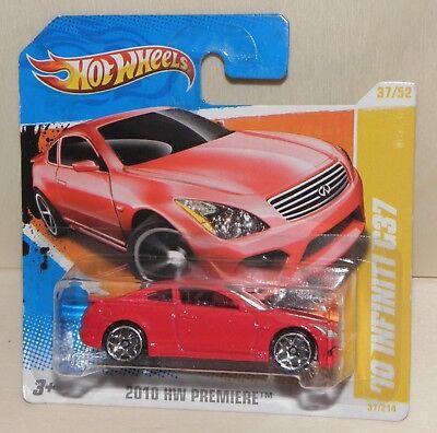 Hot Wheels '10 INFINITI G37 rot | 2010 HW PREMIERE New Models  # R0952 rar NEU ()