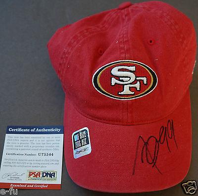 ALDON SMITH Signed New San Francisco 49ers Cap Auto PSA/DNA Certified Autograph