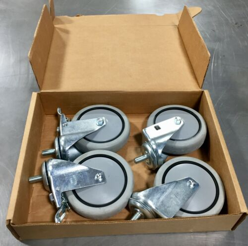Faultless Casters - swivel, locking, heavy duty --- NEW in box