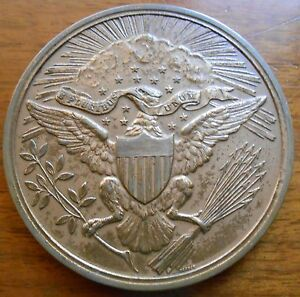 1882 GREAT SEAL CENTENNIAL BRONZE MEDAL SOLD OUT US MINT