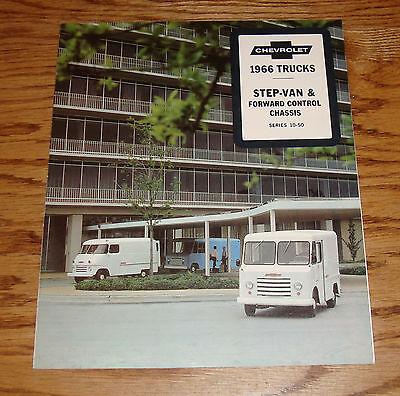 Original 1966 Chevrolet Step-Van & Forward Control Chassis Sales Brochure 66 Chevrolet Forward Control Chassis
