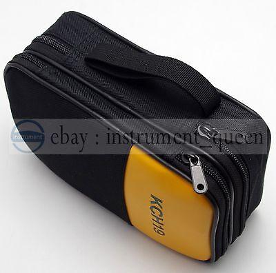 Double Layer Zipper Case Bag Use For Fluke 87-v 931 941 115 116 117 175 179 177