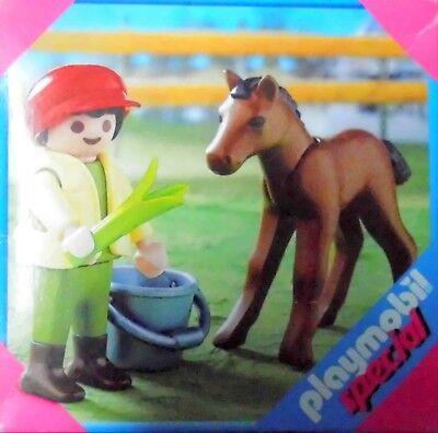 Spielzeug Junge mit Fohlen Neu Alter 4+ von Playmobil
