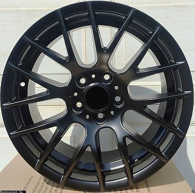"4 New 18"" Black Wheels Rims for BMW 3 Series 320 328 330 335 340 E90 CSL -5649"