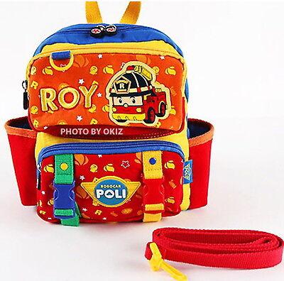 Robocar Poli ROY backpack /Lost child Harness Belt /Baby Kids bag Gift Character