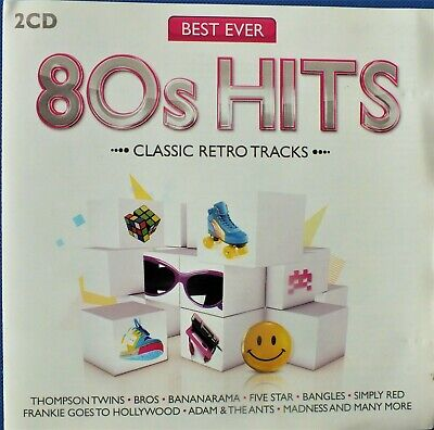 BEST EVER 80's HITS.  VARIOUS ARTISTS.  2 x CD