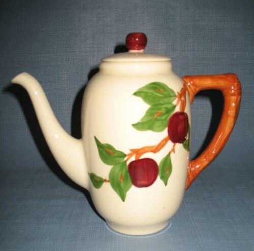 Franciscan Apple lidded coffee pot