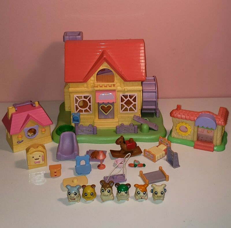 Epoch Hamtaro Ham Ham House Playset