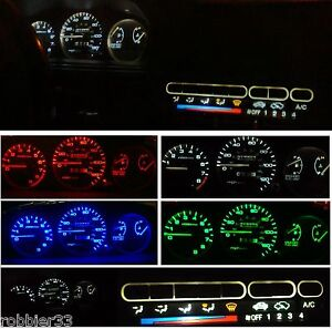 Honda-Civic-EG-92-95-Gauge-Cluster-Climate-control-LED-KIT