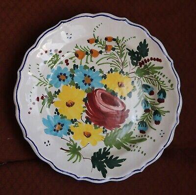 piatto ceramica R. Vitacolonna
